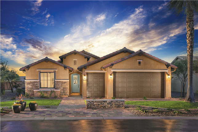 Robson ranch eloy model homes